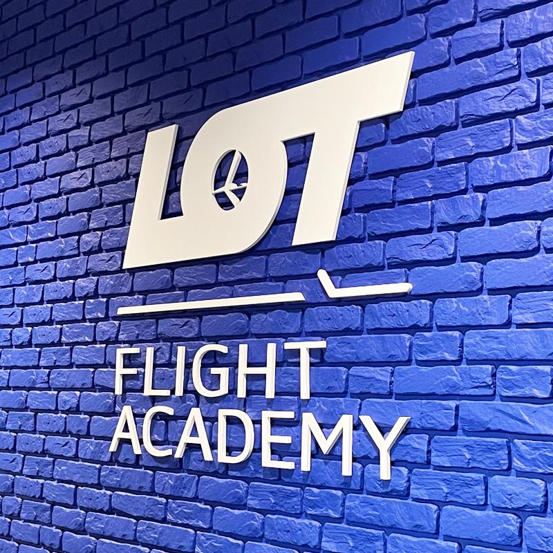 Logo 3D LOT - Reklama Efekt