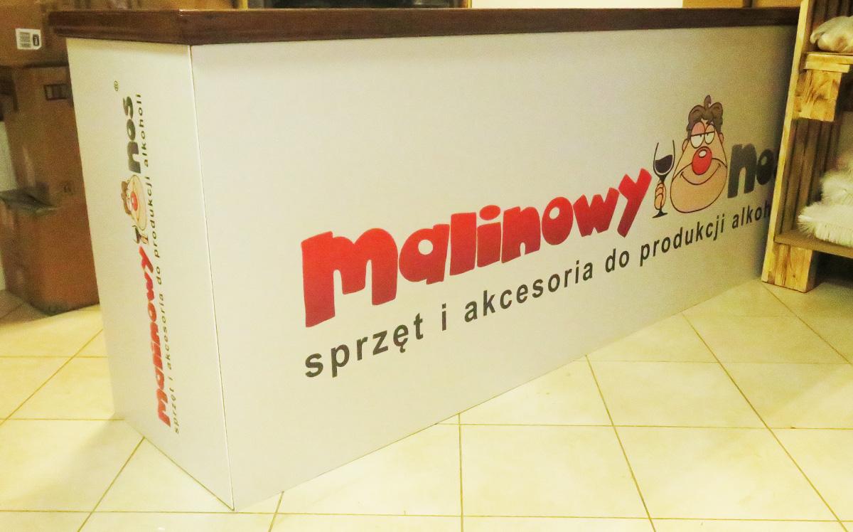 Oklejanie lady Malinowy nos - Studio EFEKT