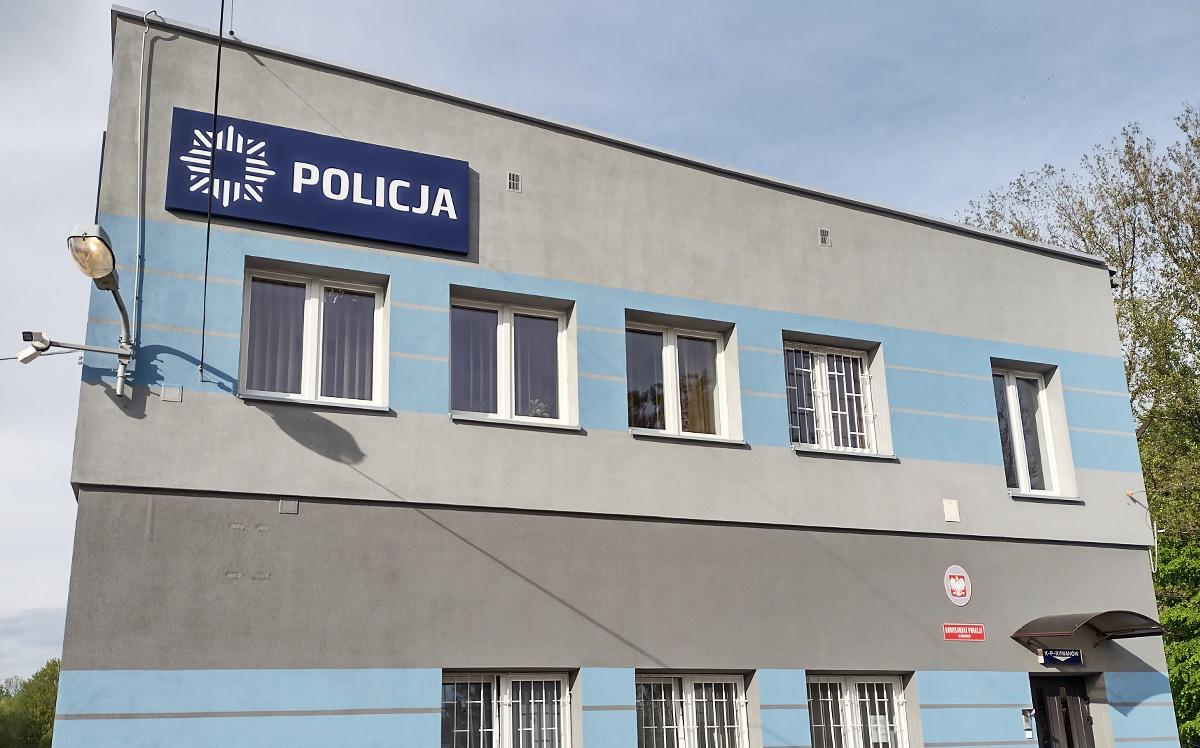 Reklama świetlna, kasetony reklamowe dla OSP i Policja Rymanów - Studio EFEKT