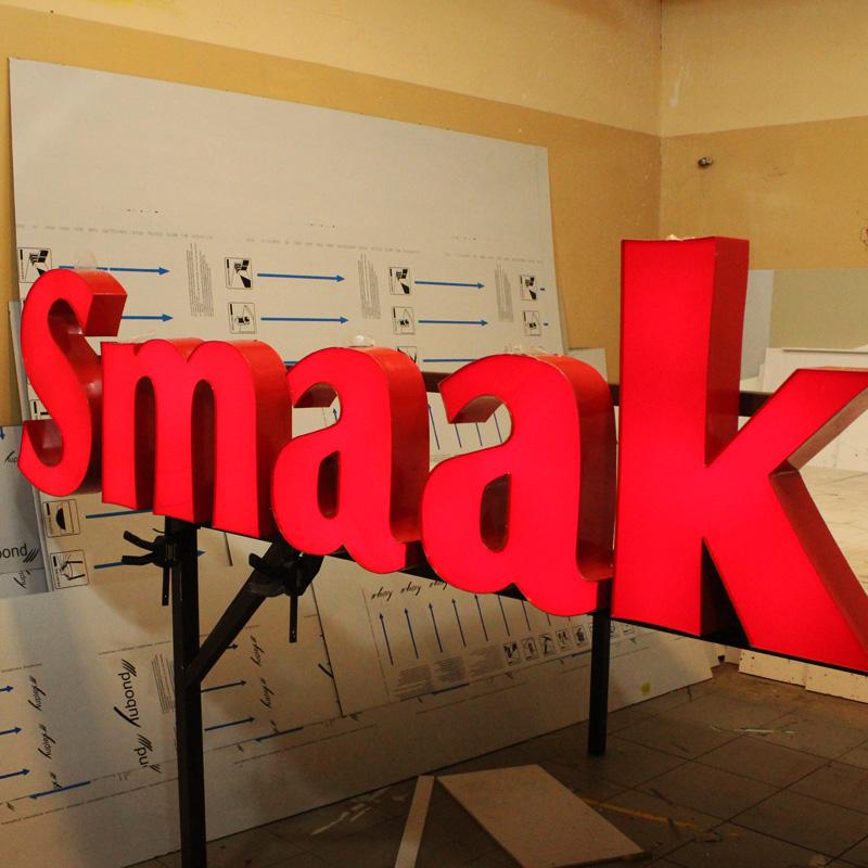 Litery 3D podświetlane Studio EFEKT